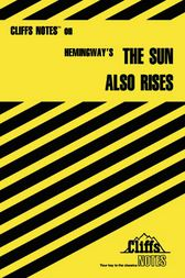 Hemingway's The Sun Also Rises by Gary Carey