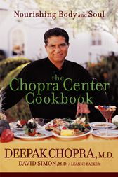 The Chopra Center Cookbook by Deepak Chopra