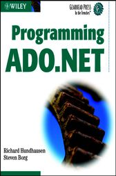 Programming ADO.NET by Richard Hundhausen
