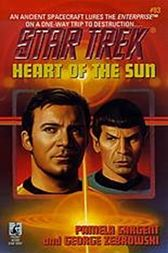 Heart Of The Sun Star Trek 83 by George Zebrowski