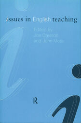 Issues in English Teaching by Jon Davison