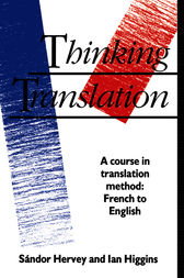 Thinking Translation by Sandor Hervey