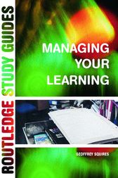 Managing Your Learning