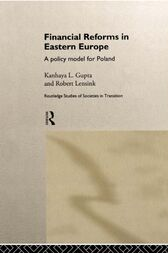 Financial Reforms in Eastern Europe by Kanhaya Gupta