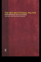 The New Institutional Politics by Svante Ersson