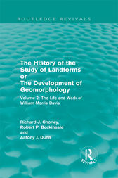 History of the Study of Landforms by R. P. Beckinsale