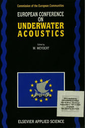 European Conference on Underwater Acoustics by M. Weydert