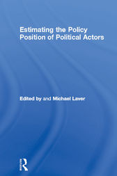Estimating the Policy Position of Political Actors by Michael Laver