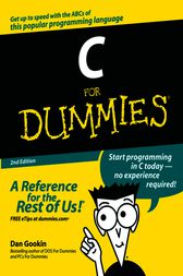C For Dummies by Dan Gookin