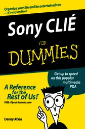 Sony CLIe For Dummies by Denny Atkin