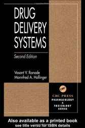 Drug Delivery Systems, Second Edition