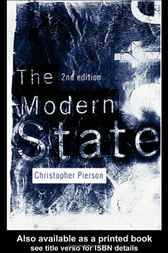 The Modern State by Christopher Pierson