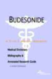 Budesonide - A Medical Dictionary, Bibliography, and Annotated Research Guide to Internet References