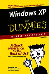 Windows XP For Dummies Quick Reference by Greg Harvey