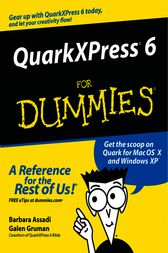 QuarkXPress 6 For Dummies by Barbara Assadi