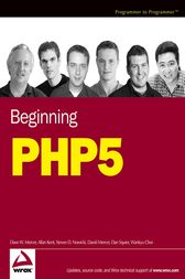 Beginning PHP5 by Dave W. Mercer