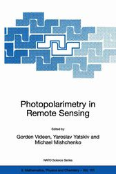 Photopolarimetry in Remote Sensing by Gorden Videen