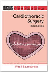 Cardiothoracic Surgery by Fritz J Baumgartner