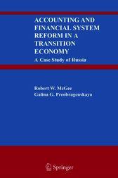 Accounting and Financial System Reform in a Transition Economy