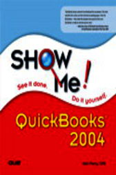 Show Me QuickBooks 2004, Adobe Reader