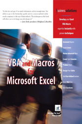 VBA and Macros for Microsoft Excel by Tracy Syrstad