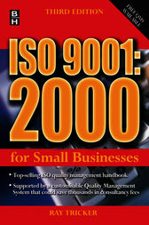 ISO 9001:2000 For Small Businesses by Ray Tricker