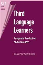 Third Language Learners by Maria Pilar Safont Jorda
