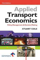 Applied Transport Economics by Stuart Cole