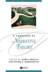 A Companion to Narrative Theory by Peter J. Rabinowitz