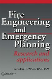 Fire Engineering and Emergency Planning by R. Barham
