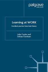 Learning at Work by John Taylor