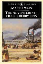 What are some examples of symbolism in The Adventures of Huckleberry Finn by Mark Twain?