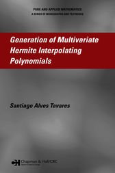 Generation of Multivariate Hermite Interpolating Polynomials by Santiago Alves Tavares