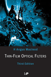 Thin-Film Optical Filters, Third Edition by