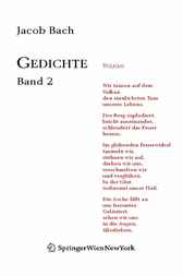 Gedichte by Jacob Bach
