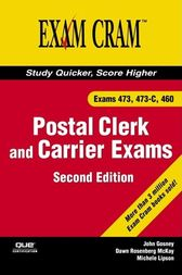 Postal Clerk and Carrier Exam Cram (473, 473-C, 460) by John Gosney
