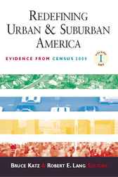 Redefining Urban and Suburban America, Volume 1 by Bruce J. Katz