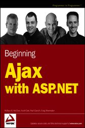 Beginning Ajax with ASP.NET by Wallace B. McClure