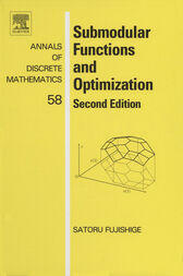 Submodular Functions and Optimization by Satoru Fujishige