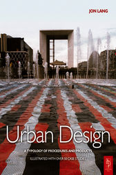 Urban Design by Jon Lang