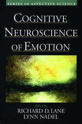 Cognitive Neuroscience of Emotion by Richard D. Lane