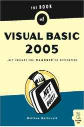The Book of Visual Basic 2005 by Matthew MacDonald