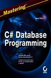 Mastering C# Database Programming by Jason Price