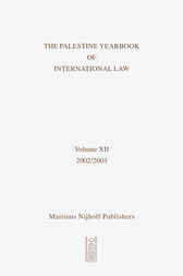The Palestine Yearbook of International Law , Volume 12 (2002-2003) by Camille Mansour