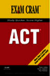 ACT Exam Cram by Susan French Felstiner