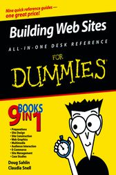 Building Web Sites All-in-One Desk Reference For Dummies by Doug Sahlin