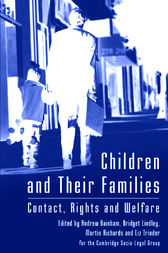 Children and Their Families by Andrew Bainham