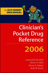 Clinician's Pocket Drug Reference by Leonard Gomella