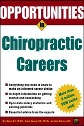 Opportunities in Chiropractic Careers