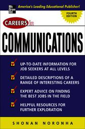 Careers in Communications by Shonan Noronha